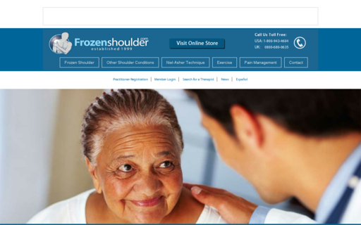 Access frozenshoulder.com using Hola Unblocker web proxy