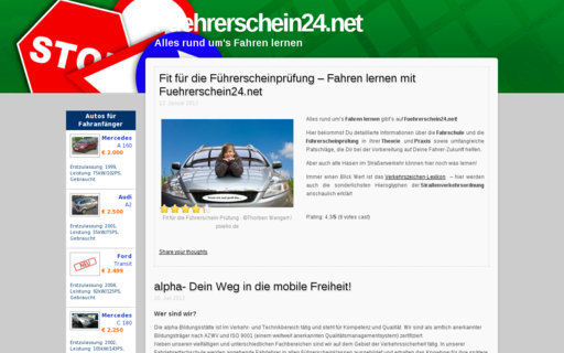 Access fuehrerschein24.net using Hola Unblocker web proxy
