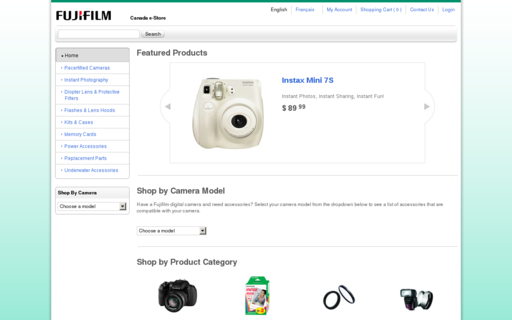 Access fujifilmestore.ca using Hola Unblocker web proxy