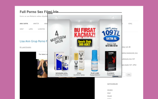 Access fullpornosexizle.com using Hola Unblocker web proxy