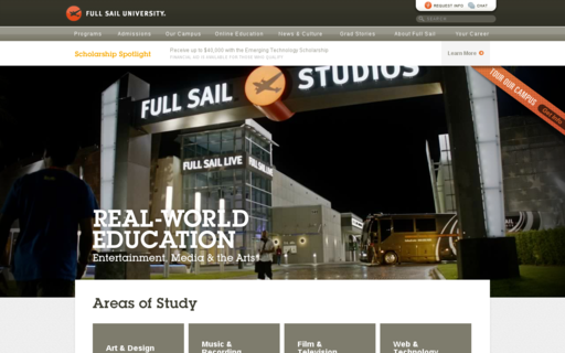 Access fullsail.com using Hola Unblocker web proxy