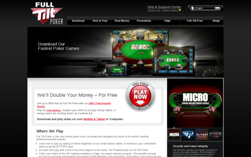 Access fulltiltpoker.com using Hola Unblocker web proxy