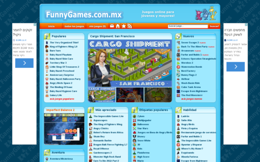 Access funnygames.com.mx using Hola Unblocker web proxy