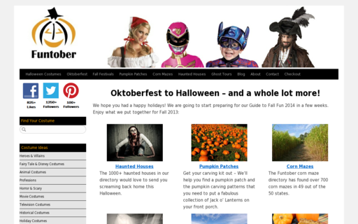 Access funtober.com using Hola Unblocker web proxy