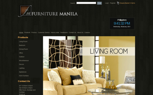 Access furnituremanila.com using Hola Unblocker web proxy
