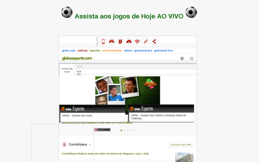 Access futlive.net using Hola Unblocker web proxy