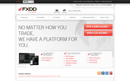Access fxdd.com using Hola Unblocker web proxy