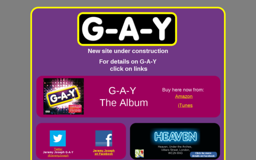 Access g-a-y.co.uk using Hola Unblocker web proxy