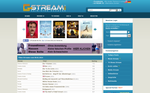 Access g-stream.in using Hola Unblocker web proxy