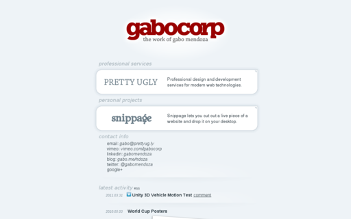 Access gabocorp.com using Hola Unblocker web proxy