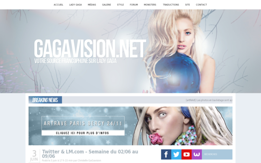 Access gagavision.net using Hola Unblocker web proxy