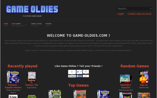 Access game-oldies.com using Hola Unblocker web proxy