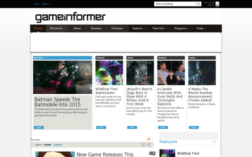 Access gameinformer.com using Hola Unblocker web proxy