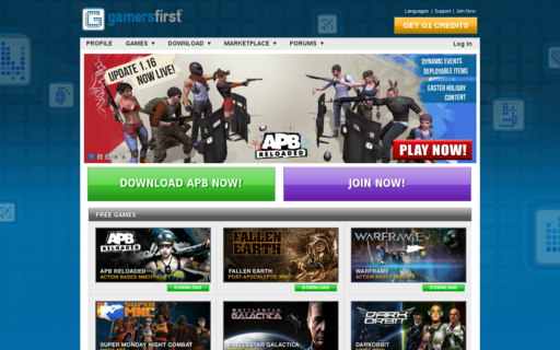Access gamersfirst.com using Hola Unblocker web proxy