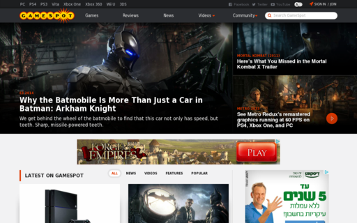Access gamespot.com.au using Hola Unblocker web proxy
