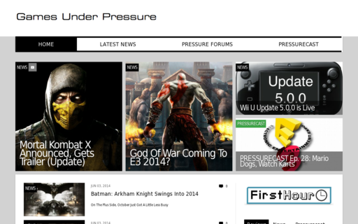 Access gamesunderpressure.com using Hola Unblocker web proxy