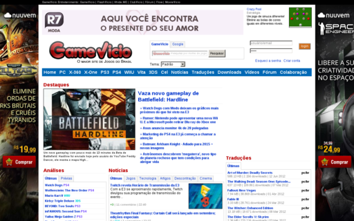 Access gamevicio.com using Hola Unblocker web proxy
