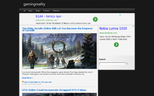 Access gamingreality.com using Hola Unblocker web proxy