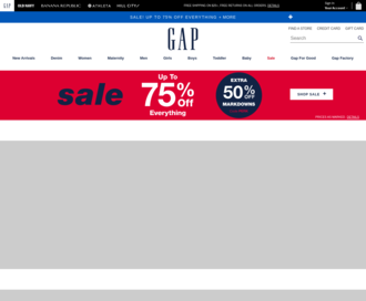 Access gap.com using Hola Unblocker web proxy