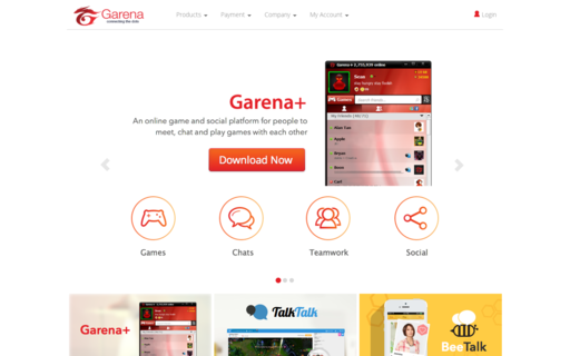Access garena.com using Hola Unblocker web proxy