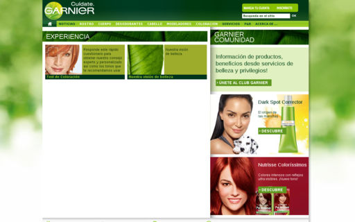Access garnier.com.mx using Hola Unblocker web proxy