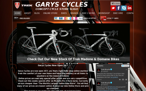 Access garyscycles.com using Hola Unblocker web proxy