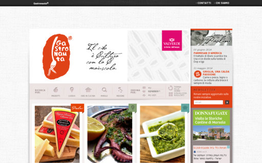 Access gastronauta.it using Hola Unblocker web proxy