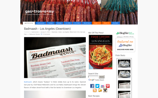 Access gastronomyblog.com using Hola Unblocker web proxy