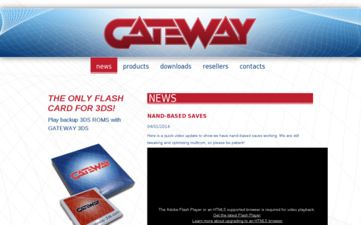 Access gateway-3ds.com using Hola Unblocker web proxy