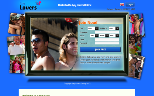 Access gaylovers.co.uk using Hola Unblocker web proxy