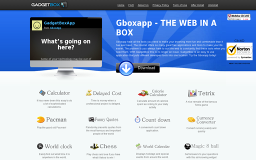 Access gboxapp.com using Hola Unblocker web proxy