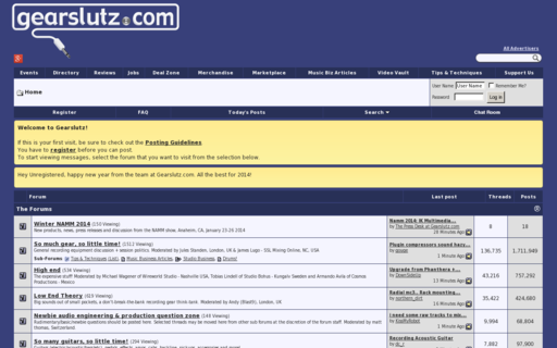 Access gearslutz.com using Hola Unblocker web proxy