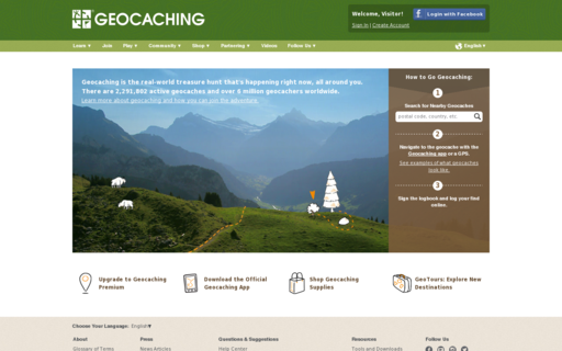 Access geocaching.com using Hola Unblocker web proxy