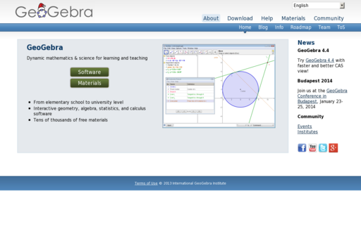 Access geogebra.org using Hola Unblocker web proxy