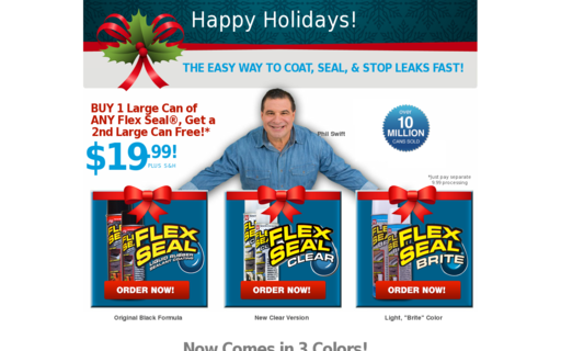 Access getflexseal.com using Hola Unblocker web proxy