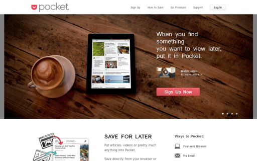 Access getpocket.com using Hola Unblocker web proxy