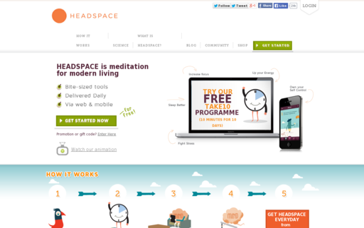 Access getsomeheadspace.com using Hola Unblocker web proxy