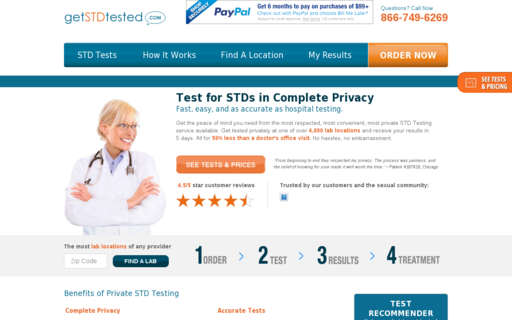 Access getstdtested.com using Hola Unblocker web proxy