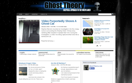 Access ghosttheory.com using Hola Unblocker web proxy
