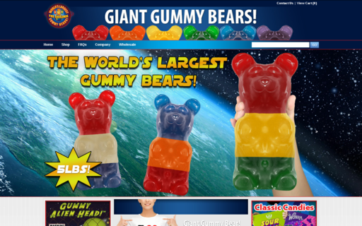 Access giantgummybears.com using Hola Unblocker web proxy