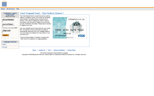 Access giftcardstore.ca using Hola Unblocker web proxy
