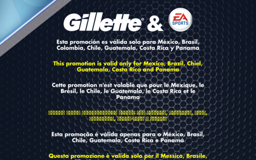 Access gillette-easports.com using Hola Unblocker web proxy