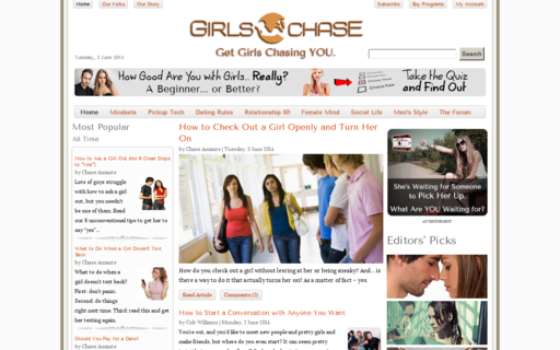 Access girlschase.com using Hola Unblocker web proxy
