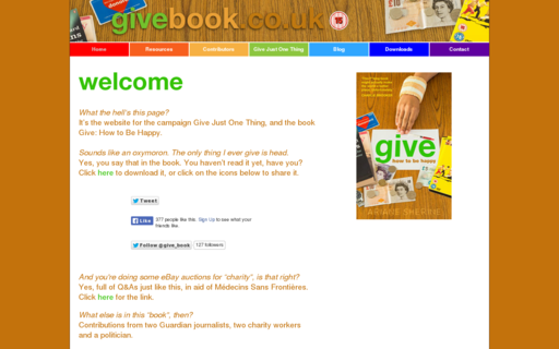 Access givebook.co.uk using Hola Unblocker web proxy