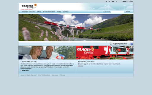 Access glacierexpress.ch using Hola Unblocker web proxy