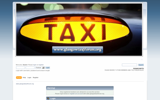 Access glasgowtaxiforum.org using Hola Unblocker web proxy