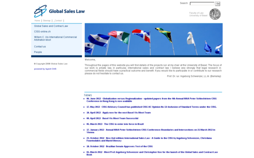 Access globalsaleslaw.org using Hola Unblocker web proxy