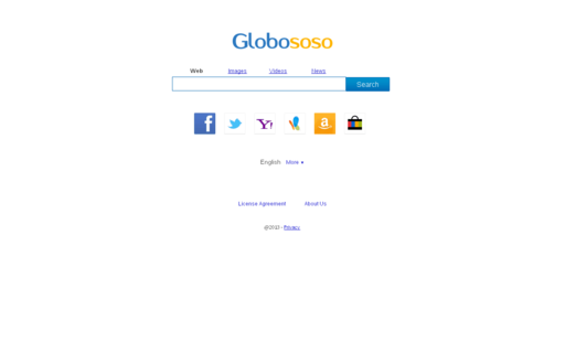 Access globososo.com using Hola Unblocker web proxy