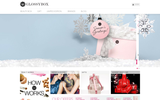 Access glossybox.co.uk using Hola Unblocker web proxy