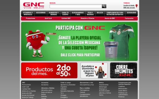 Access gnc.com.mx using Hola Unblocker web proxy